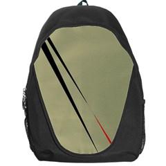 Elegant lines Backpack Bag