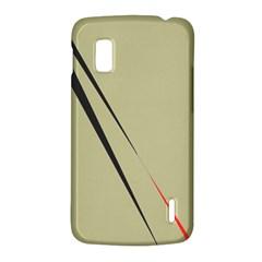 Elegant lines LG Nexus 4