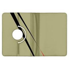 Elegant lines Kindle Fire HDX Flip 360 Case