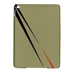 Elegant lines iPad Air 2 Hardshell Cases