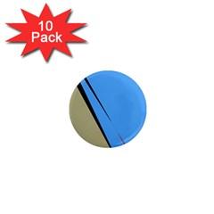 Elegant lines 1  Mini Magnet (10 pack)