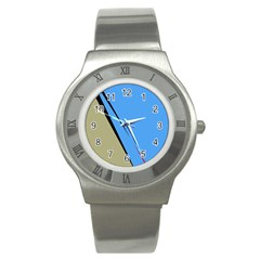 Elegant lines Stainless Steel Watch