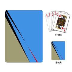 Elegant lines Playing Card