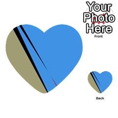 Elegant lines Multi-purpose Cards (Heart)