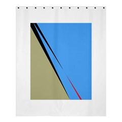 Elegant lines Shower Curtain 60  x 72  (Medium)