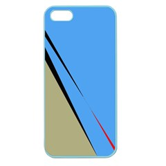 Elegant lines Apple Seamless iPhone 5 Case (Color)