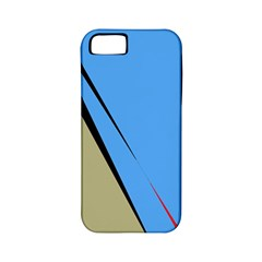 Elegant lines Apple iPhone 5 Classic Hardshell Case (PC+Silicone)