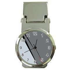 Elegant gray Money Clip Watches