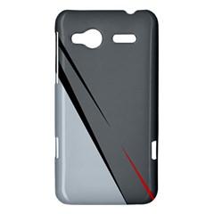 Elegant gray HTC Radar Hardshell Case
