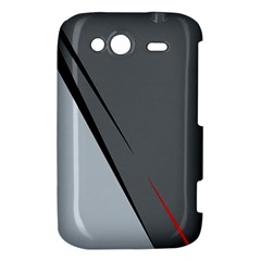 Elegant gray HTC Wildfire S A510e Hardshell Case