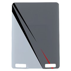 Elegant gray Kindle Touch 3G