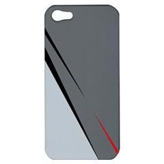 Elegant gray Apple iPhone 5 Hardshell Case