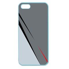 Elegant gray Apple Seamless iPhone 5 Case (Color)