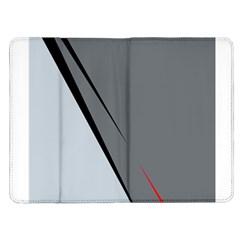 Elegant gray Kindle Fire (1st Gen) Flip Case