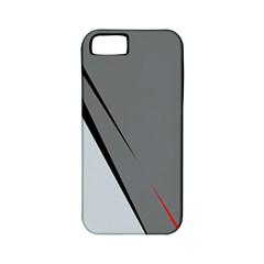 Elegant gray Apple iPhone 5 Classic Hardshell Case (PC+Silicone)