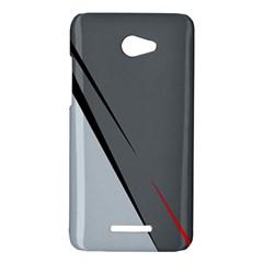 Elegant gray HTC Butterfly X920E Hardshell Case