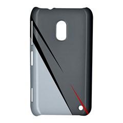Elegant gray Nokia Lumia 620