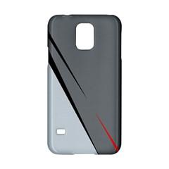 Elegant gray Samsung Galaxy S5 Hardshell Case