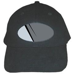 Elegant gray Black Cap