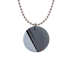 Elegant gray Button Necklaces