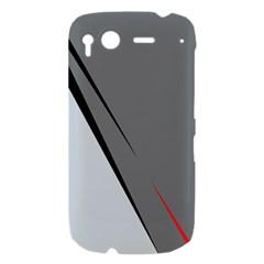 Elegant gray HTC Desire S Hardshell Case