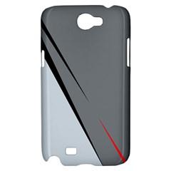 Elegant gray Samsung Galaxy Note 2 Hardshell Case