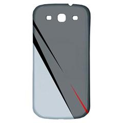Elegant gray Samsung Galaxy S3 S III Classic Hardshell Back Case