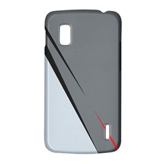 Elegant gray LG Nexus 4