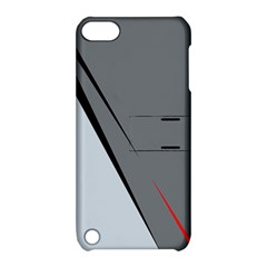 Elegant gray Apple iPod Touch 5 Hardshell Case with Stand