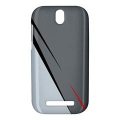 Elegant gray HTC One SV Hardshell Case