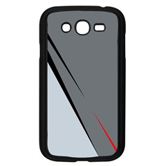 Elegant gray Samsung Galaxy Grand DUOS I9082 Case (Black)
