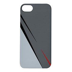 Elegant gray Apple iPhone 5S/ SE Hardshell Case