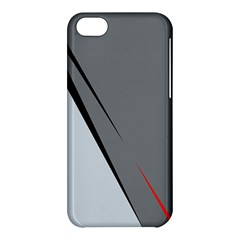 Elegant gray Apple iPhone 5C Hardshell Case