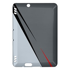 Elegant gray Kindle Fire HDX Hardshell Case