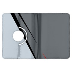 Elegant gray Kindle Fire HDX Flip 360 Case
