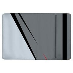 Elegant gray iPad Air Flip