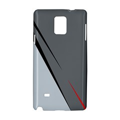 Elegant Gray Samsung Galaxy Note 4 Hardshell Case