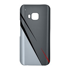 Elegant gray HTC One M9 Hardshell Case