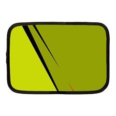 Yellow elegant design Netbook Case (Medium)
