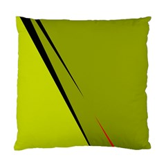 Yellow elegant design Standard Cushion Case (Two Sides)