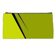 Yellow elegant design Pencil Cases