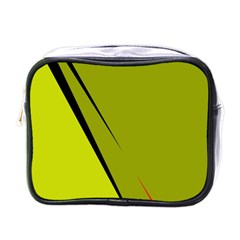 Yellow elegant design Mini Toiletries Bags