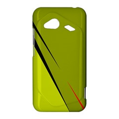 Yellow elegant design HTC Droid Incredible 4G LTE Hardshell Case
