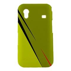 Yellow elegant design Samsung Galaxy Ace S5830 Hardshell Case
