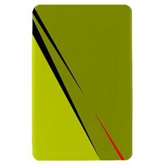 Yellow elegant design Kindle Fire (1st Gen) Hardshell Case