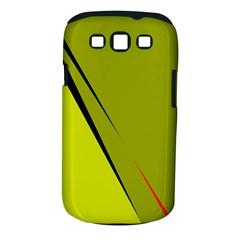 Yellow elegant design Samsung Galaxy S III Classic Hardshell Case (PC+Silicone)