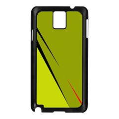Yellow elegant design Samsung Galaxy Note 3 N9005 Case (Black)