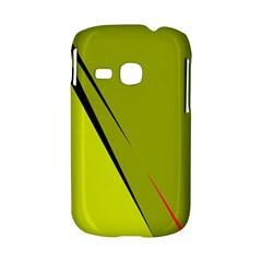 Yellow elegant design Samsung Galaxy S6310 Hardshell Case