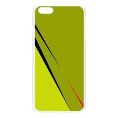 Yellow elegant design Apple Seamless iPhone 6 Plus/6S Plus Case (Transparent)