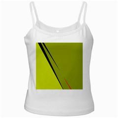 Yellow elegant design Ladies Camisoles